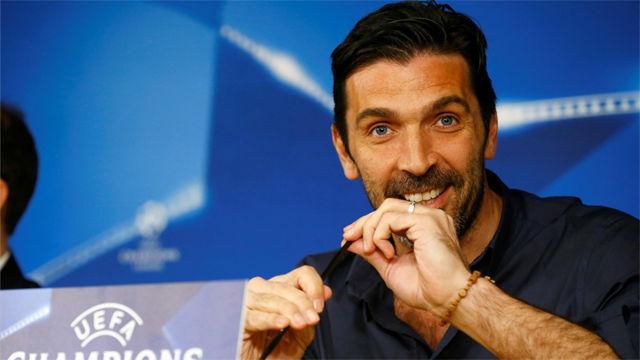 Buffon podría jugar su último partido de Champions