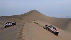 El catarí Al-Attiyah, ganador del último Dakar en Sudamérica