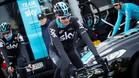 Chris Froome se encuentra en Mallorca realizando un stage de pretemporada
