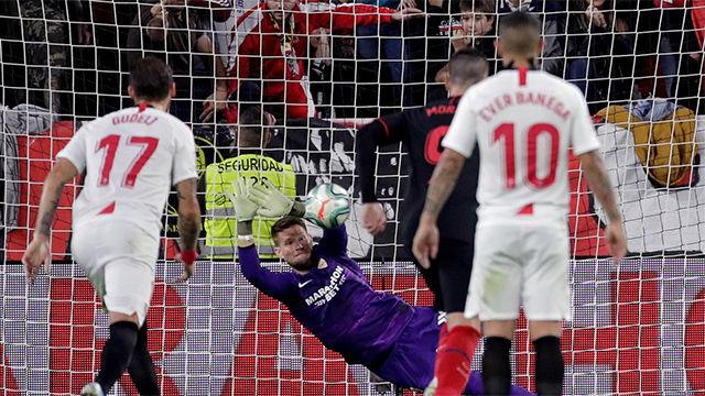 Costa falla un penalti y deja en tablas el marcador en el Pizjuán