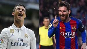 Cristiano y Messi mantienen un pulso por convertirse en el primer jugador que llega a los 100 goles en Europa