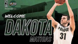 Dakota Mathias, nuevo fichaje del Joventut