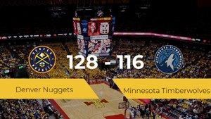 Denver Nuggets consigue la victoria frente a Minnesota Timberwolves por 128-116