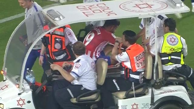 Diego Costa se lesionó ante el Beitar Jerusalén