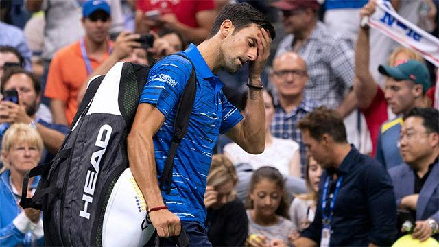 Djokovic se retira del US Open