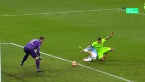 El doblete de Agüero ante el Schalke