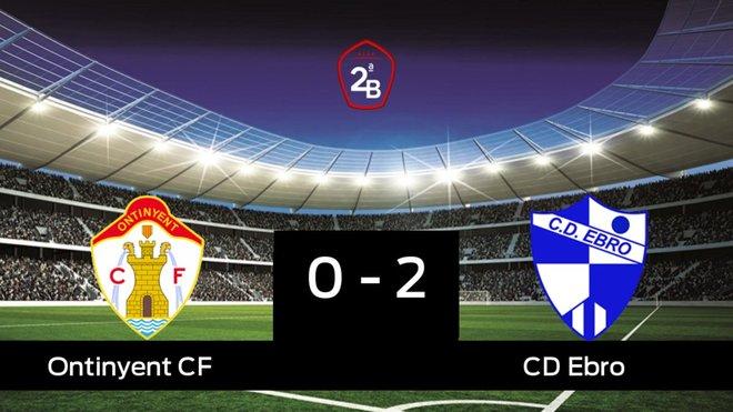 El Ebro doblegó al Ontinyent por 0-2