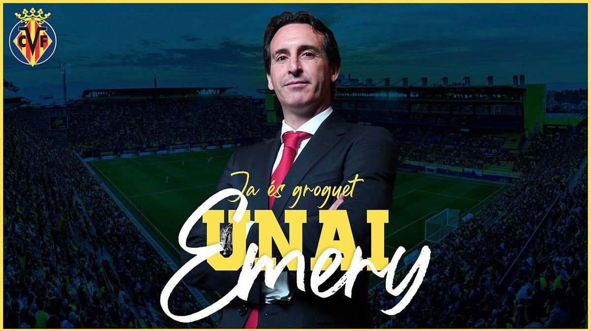 Emery, nuevo entrenador del Villarreal