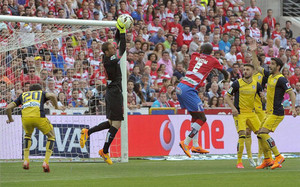 El empate permitió a Granada y Atlético cumplir sus objetivos