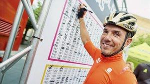 El escalador de Parets retrasa su cita cicloturista