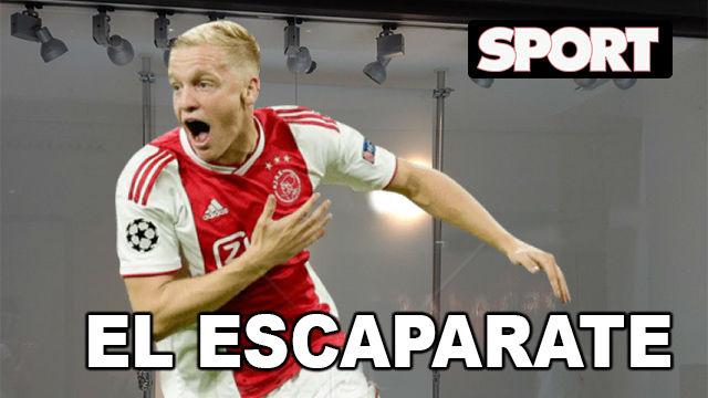 El Escaparate: Van de Beek, el centrocampista que quiere media Europa
