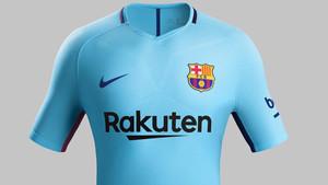 Esta será la segunda indumentaria del Barcelona para la temporada 2017-2018 2f51ae2e18f13