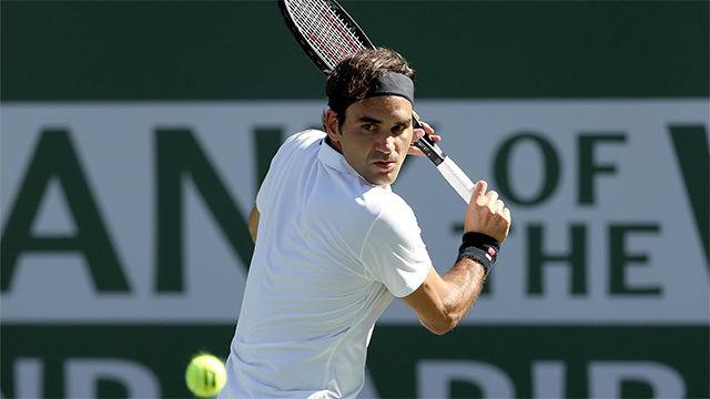 Federer se clasifica para cuartos de Indian Wells
