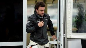 Fernando Alonso formó parte de McLaren-Honda entre 2015 y 2017