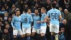 Gabriel Jesus, con cuatro goles, lideró la goleada del Manchester City