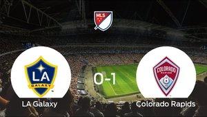 El LA Galaxy pierde ante el Colorado Rapids por 0-1