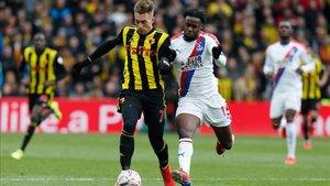Gerard Deulofeu está cuajando una buena temporada en el Watford