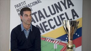 Gerard López, seleccionador de Catalunya, habló de Piqué