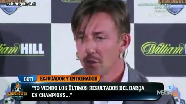 Guti cree que el Chelsea eliminará al Barça