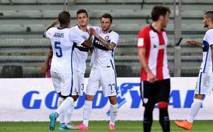 El Inter doblega al Athletic de Bilbao