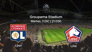 Jornada 16 de la Ligue 1: previa del duelo Olympique Lyon - OSC Lille