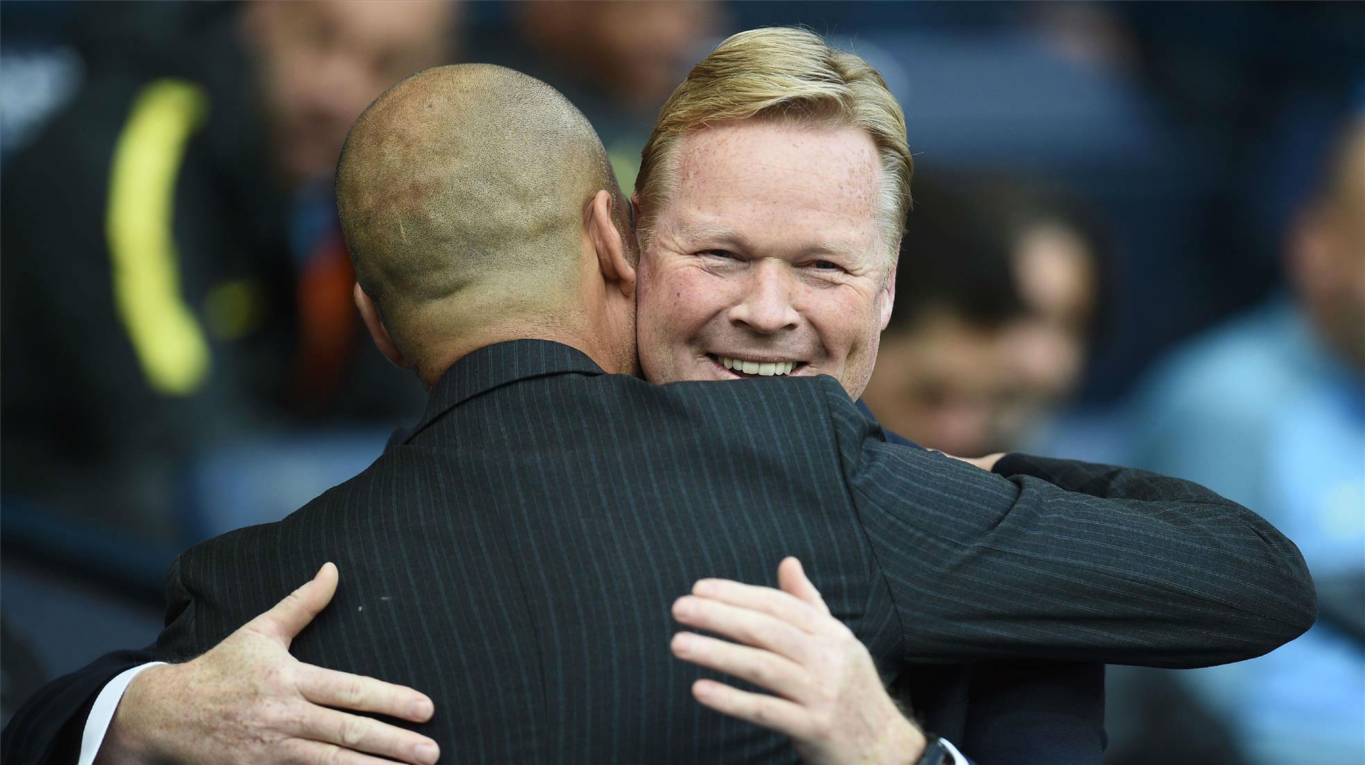 Koeman: Si Guardiola está contento, yo también