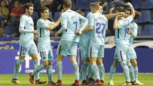 LALIGA 123   Tenerife - Barça B (1-3)
