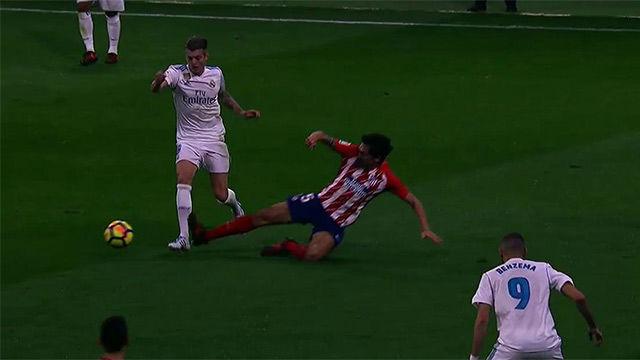 LALIGA | Atlético Madrid - Real Madrid (0-0): Savic se jugó la roja