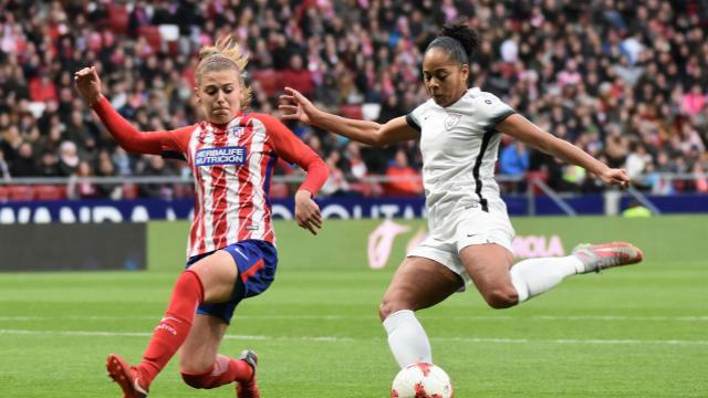 LALIGA FEMENINA   Atlético de Madrid - Madrid CFF (2-2)