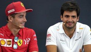 Leclerc y Sainz serán el tandem de Ferrari en 2021