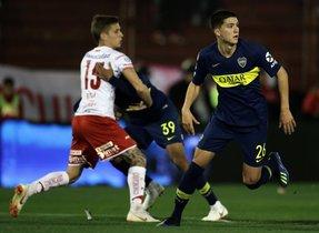 Leo Balerdi estuvo en la órbita del FC Barcelona