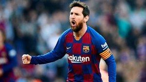 Leo Messi se ha llenado la boca de gol en 629 ocasiones con la elástica azulgrana y en 70 con la albiceleste. Este martes va a por el gol 700, el 630 con el FC Barcelona