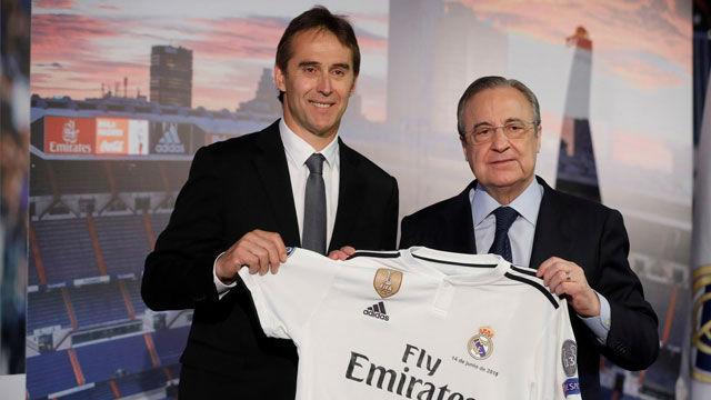 Lopetegui sobre Cristiano: El mejor del mundo está en el Real Madrid