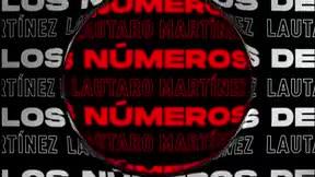 Los increíbles números de Lautaro Martínez