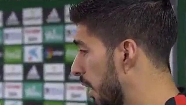 Luis Suárez volvió a elogiar a Messi