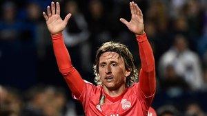 Luka Modric se resiente tras el primer entrenamiento en Montreal