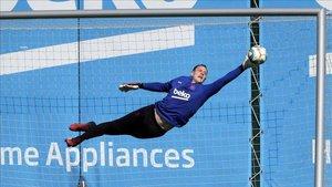 Marc André Ter Stegen se encuentra muy feliz en el FC Barcelona