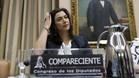 María José Rienda durante su comparecencia en la Comisión de Cultura y Deporte del Congreso