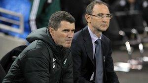 Martin ONeill y Roy Keane se despiden después de cinco años con Irlanda