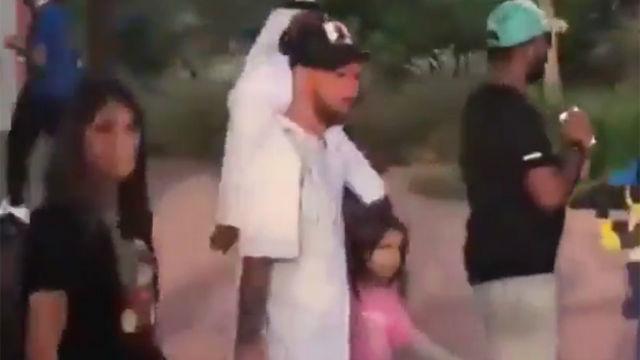Messi se va de minivacaciones a Dubai