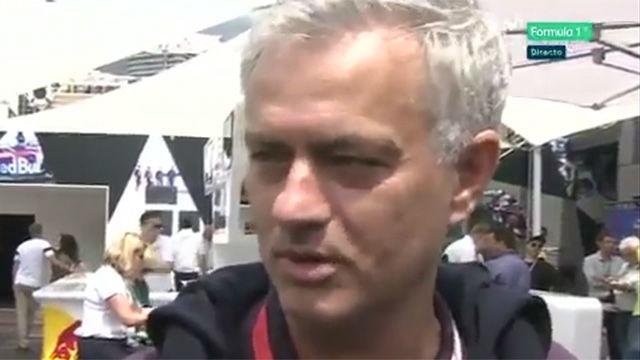 Mourinho, estrella en la previa del GP de Mónaco