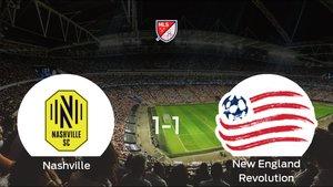 El Nashville SC y el New England Revolution se reparten los puntos tras su empate a uno