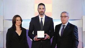 Navarro, galardonado en el COE y este viernes, en el Marca