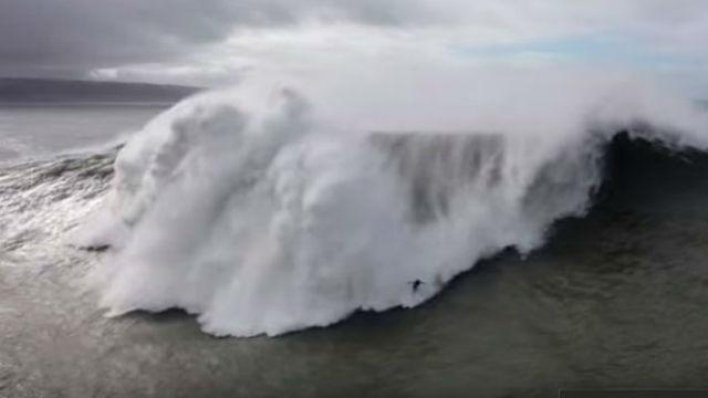 La ola gigante que casi termina con la vida de un surfista: así fue el dramático rescate