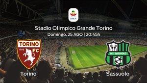 Previa del partido: comienza la Serie A para el Torino jugando ante el Sassuolo