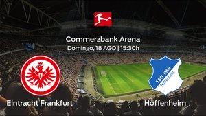 Previa del partido: el Eintracht Frankfurt recibe al Hoffenheim en la primera jornada