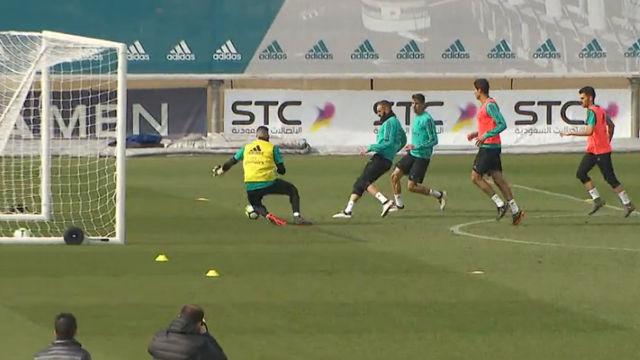El Real Madrid entrena pensando en el Leganés