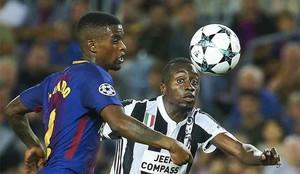 Semedo fue titular ante la Juventus