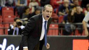 Txus Vidorreta, técnico del iberostar Tenerife