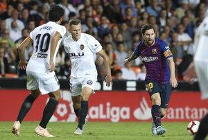 Valencia CF, 1 - FC Barcelona,1